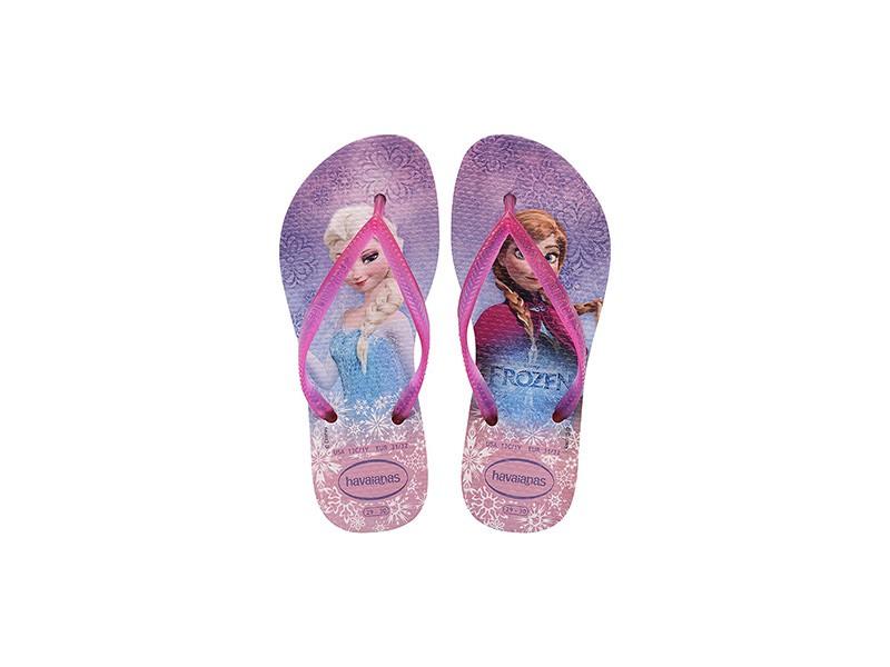 Havaianas papucs - Kids frozen crystal rose 658d5ce956